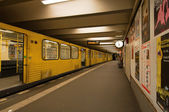 U-Bahn train — Stock Photo