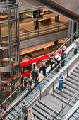 Main Berlin station — Stock Photo