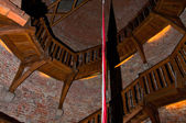 Eski kule, döner merdiven — Stok fotoğraf
