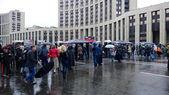 Meeting concert of Navalniy — Stock Photo