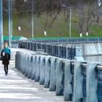Embankment walk — Stock Photo