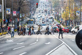 Pedestrian — Stock Photo