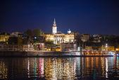 Night Belgrade — Stock Photo