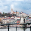 Buda cityscape — Stock Photo