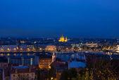 夜のブダペスト — ストック写真