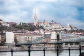 Buda cityscape — Stock Photo