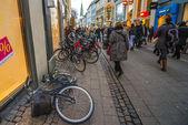 Abandoned bicycle — Stock Photo