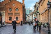 Bicycle rider — Stock Photo