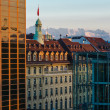 Alps above city — Stock Photo #40718483