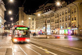 Bus on street — Stock Photo