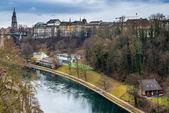 řeka aare — Stock fotografie
