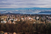 Mountains above Bern — Stock Photo