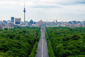 View to Brandenburger Tor — Zdjęcie stockowe