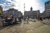 Amsterdam city gatubilden — Stockfoto