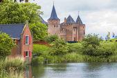 Muiden castle in Netherlands — Stock Photo