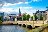 Schwerin town — Stock Photo
