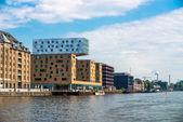 Spree shore Berlin Germany — Stock Photo