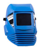 Personal protective welding mask welding — Stock Photo