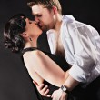 Dancing couple in love — Foto de Stock