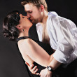 Dancing couple in love — Stock Photo