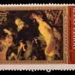 Stamps with image of Rembrandt paintings — Stock Photo #24351033