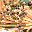 Matches in the frame — Stock Photo