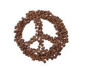 Peace logo — Zdjęcie stockowe