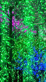 LED tree — Stock Photo