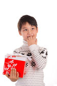 Christmas expectation — Stock Photo