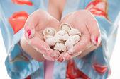 Sculpt dumplings — Stock Photo