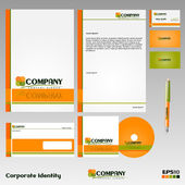 Corporate Identity — Stock Vector