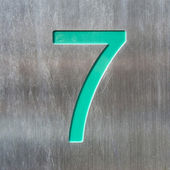 Number 7 — Stock Photo