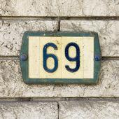 Nr.69 — Zdjęcie stockowe