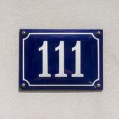 Nr. 111 — Stockfoto