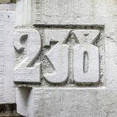 Nr. 238 — Fotografia Stock