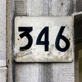 Nr. 346 — Stockfoto