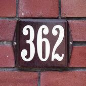 Nr. 362 — Foto Stock