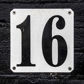 Nr. 16 — Stockfoto