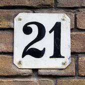 Nr. 21 — Stock Photo