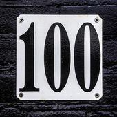 Nr. 100 — Stock Photo