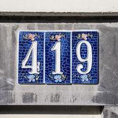 Nr. 419 — Stock Photo