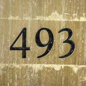Nr. 493 — Foto Stock