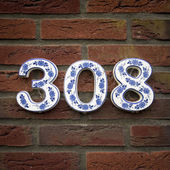 House number 308 — Stock Photo