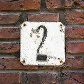 Numero 2 — Foto Stock