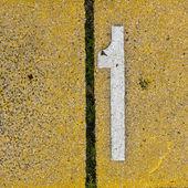 1 numara — Stok fotoğraf