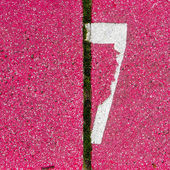 7 numara — Stok fotoğraf