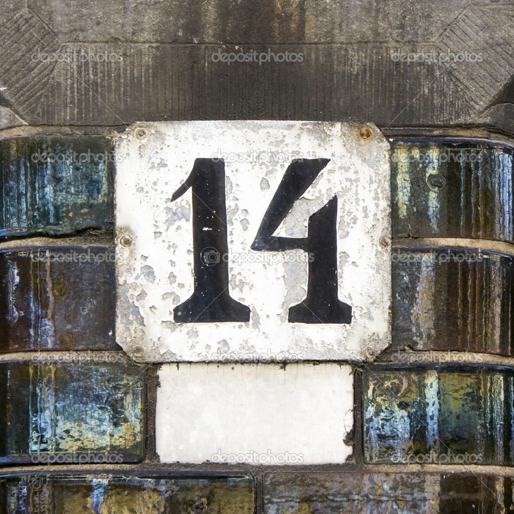 number 14  u2014 stock photo  u00a9 papparaffie  38240507