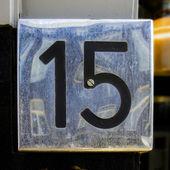 Nr. 15 — Stock Photo