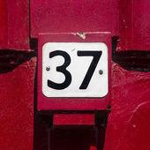 Nr. 37 — Stockfoto