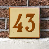Nr. 43 — Stock Photo